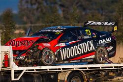 Will Davison, Tekno Autosports Holden ikinci turda kaza yapıyor