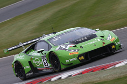 #63 GRT Grasser Racing Team Lamborghini Huracan GT3: Кристиан Энгельхарт, Мирко Бортолотти