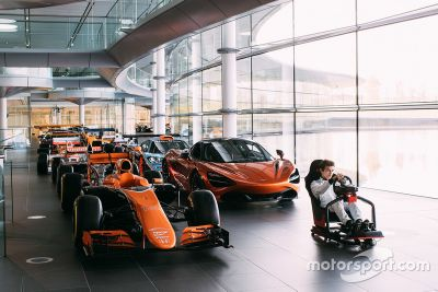 Annonce McLaren World's Fastest Gamer