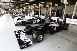 A 2012 Williams FW34 Renault , assorted classic F1 machinery