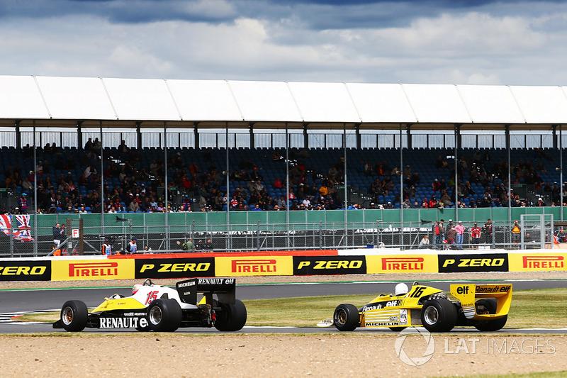 Renault Sport F1 Team: René Arnoux, Franck Montagny