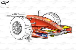 Ferrari F2001 (652) 2001 Malaysia front wing