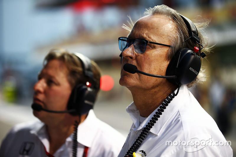 Zak Brown, McLaren Executive Director con  Mansour Ojjeh, McLaren accionista