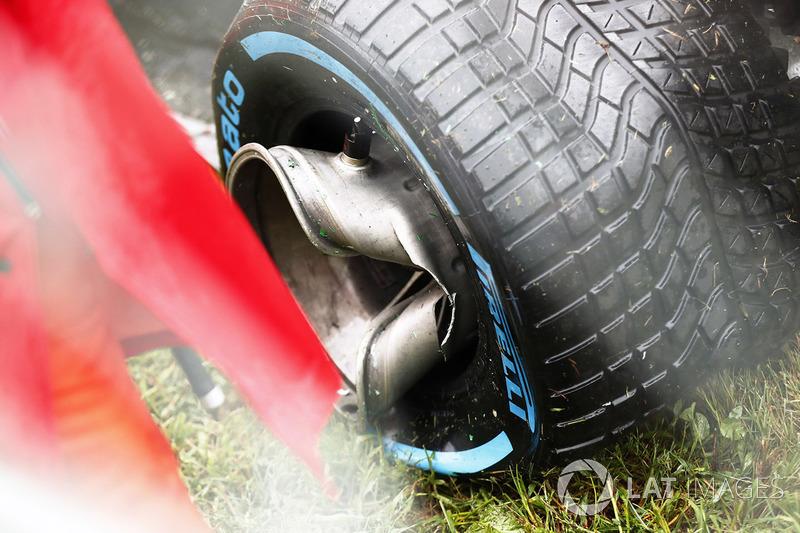 Roda Romain Grosjean, Haas VF-17
