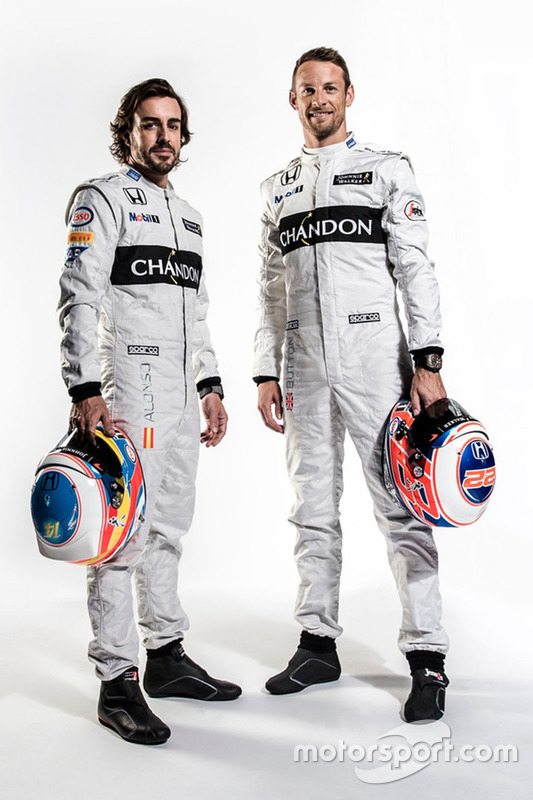 Fernando Alonso et Jenson Button, McLaren