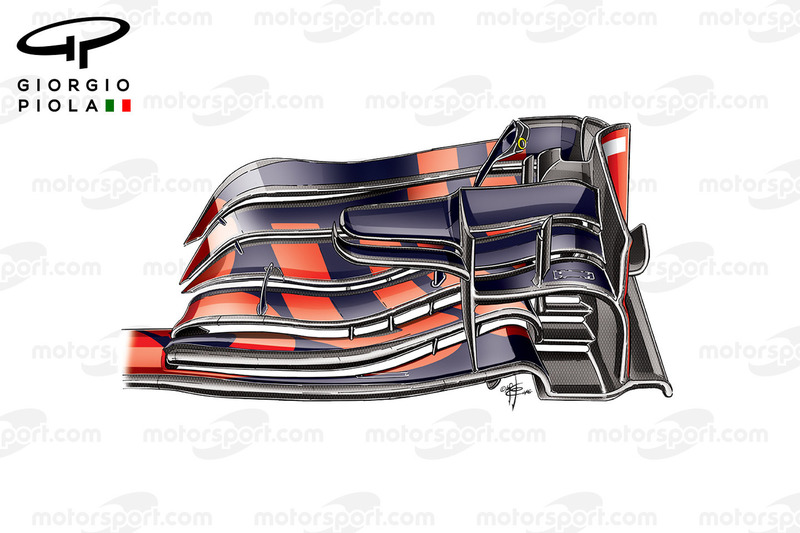Red Bull RB12 front wing, Belgium GP