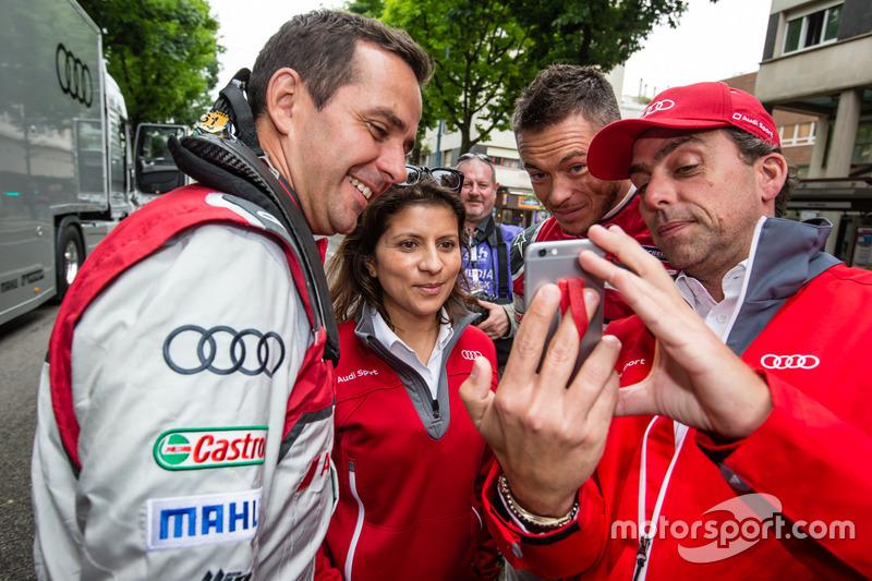 Audi Sport Team Joest: Бенуа Трелує, гоночний інженер Ліна Гейд та Андре Лоттерер пробують зробити с