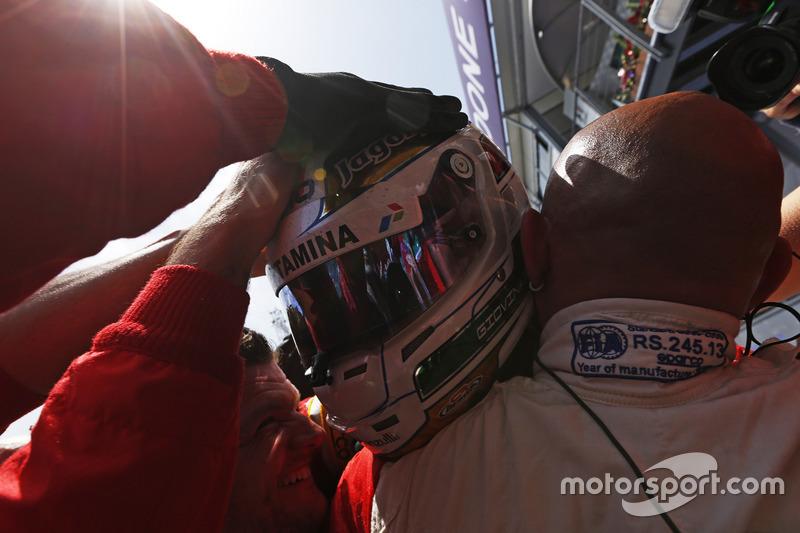 Ganador de la carrera  Antonio Giovinazzi, PREMA Racing