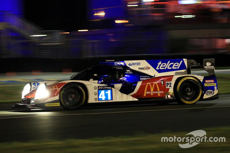 24: Ligier JSP2 Nissan команды Greaves Motorsport (№41): Мемо Рохас, Жюльен Каналь, Натанаэль Бертон