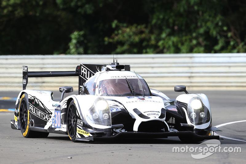 57: #30 Extreme Speed Motorsports Ligier JS P2 Nissan: Scott Sharp, Ed Brown, Johannes van Overbeek
