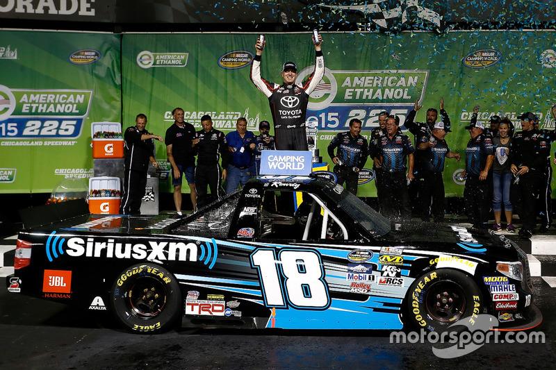 Kyle Busch Motorsports >> Race Winner Kyle Busch Kyle Busch Motorsports Toyota At Chicagoland