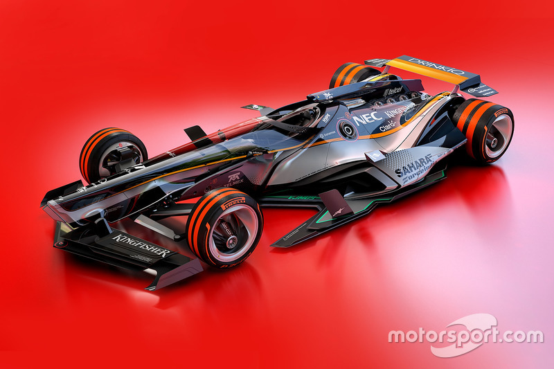 Force India 2030 fantasy design