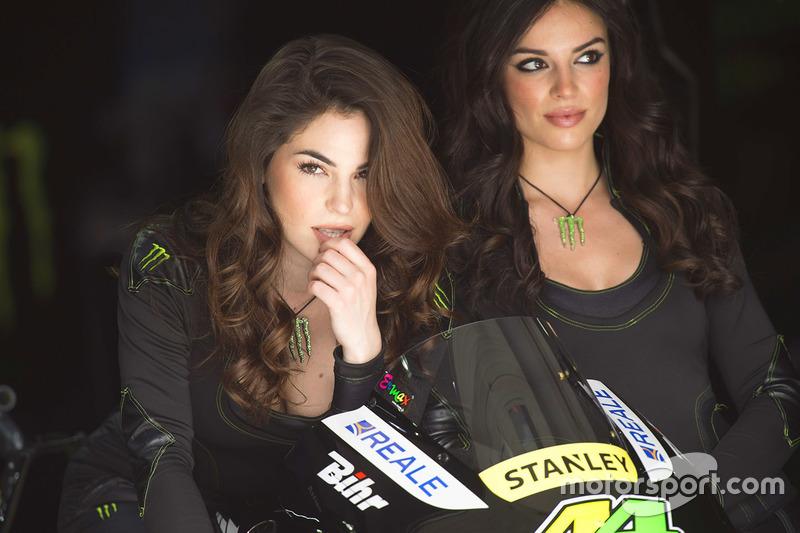 Lovely Monster Energy girl at Italian GP - MotoGP Photos