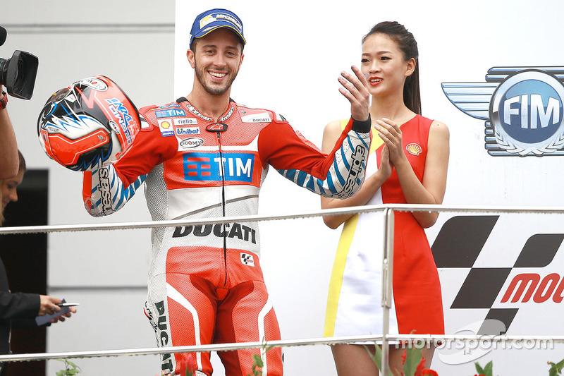 Podium: 1. Andrea Dovizioso, Ducati Team