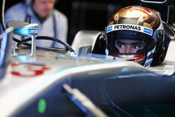 Pascal Wehrlein, Mercedes AMG F1 W05 Hybrid Test Driver