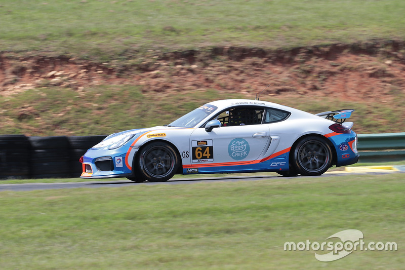 #64 Team TGM Porsche Cayman GT4: Ted Giovanis, David Murry