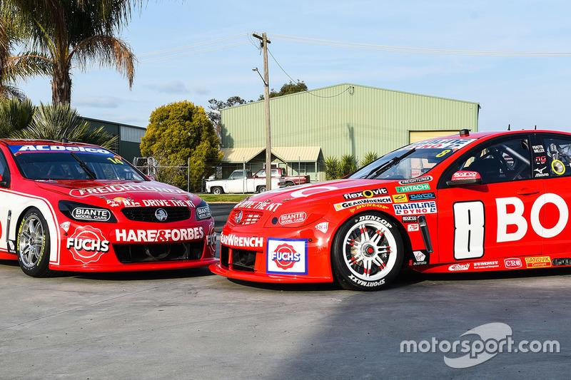 Retrodesign bei Brad Jones Racing