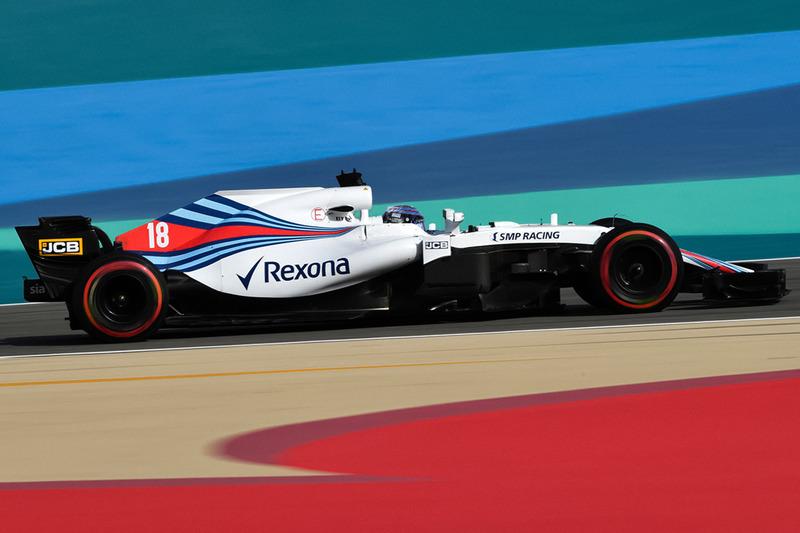 De Williams FW41 zonder halo