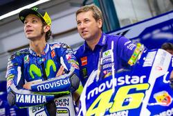 Valentino Rossi y Alex Briggs, mecánico