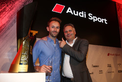 René Rast, Audi Sport Team Rosberg with his father