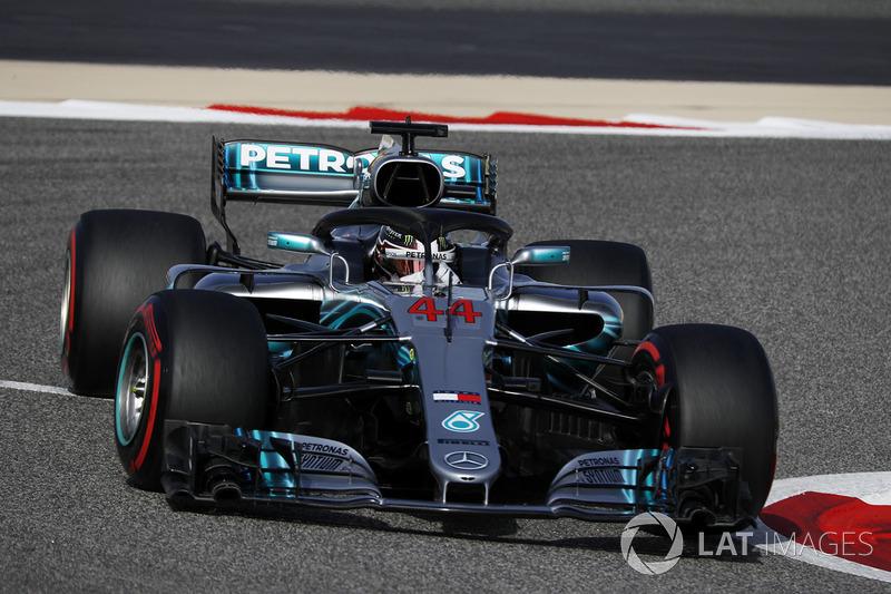 9. Lewis Hamilton, Mercedes-AMG F1 W09 EQ Power+*