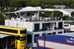 Williams motorhome roof terrace