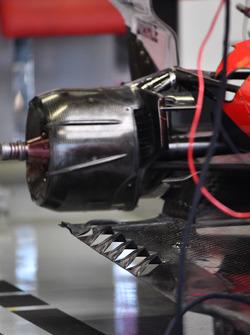 Ferrari SF70H: Hinterrad-Aufhängung