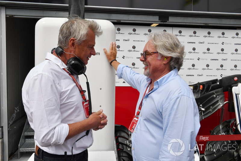 Eje Elgh, and Keke Rosberg (FIN)