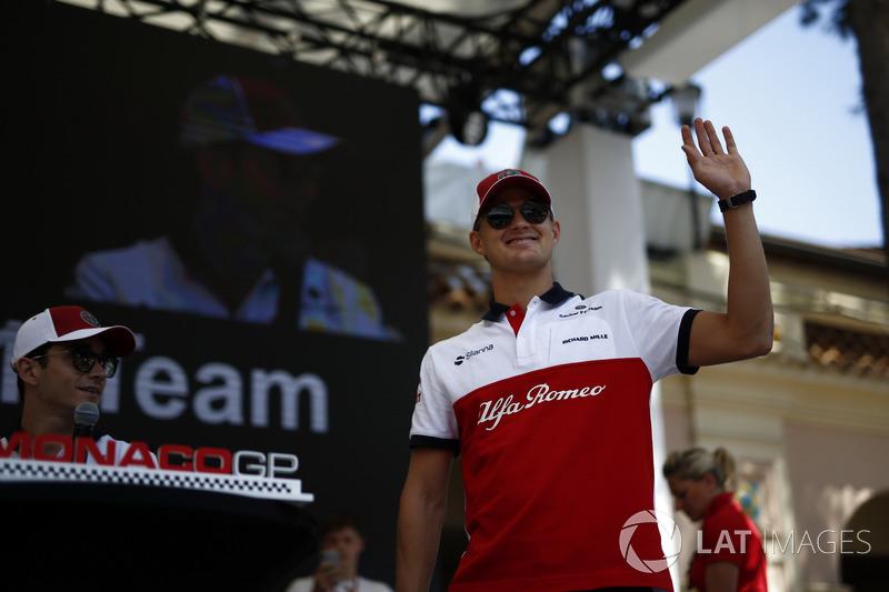 Marcus Ericsson, Sauber sur scène