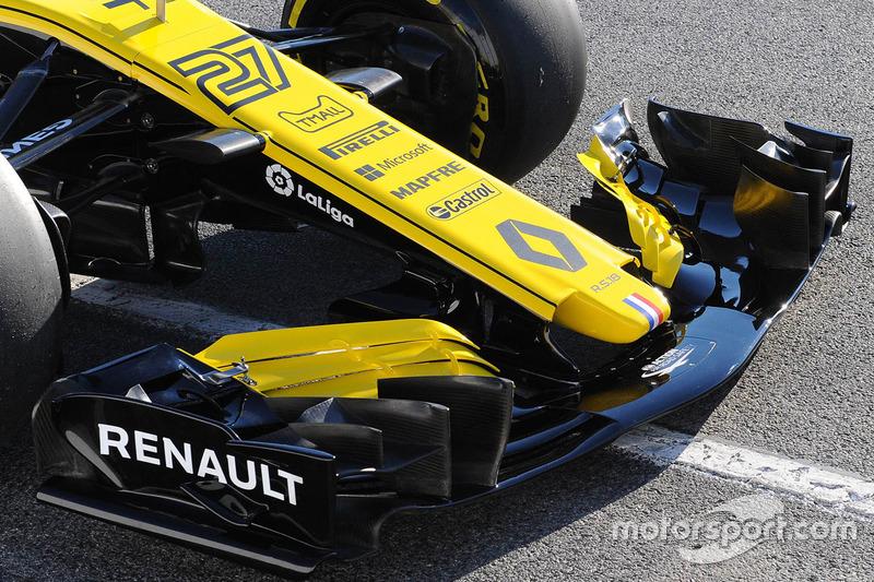 Переднє крило Renault Sport F1 Team RS18
