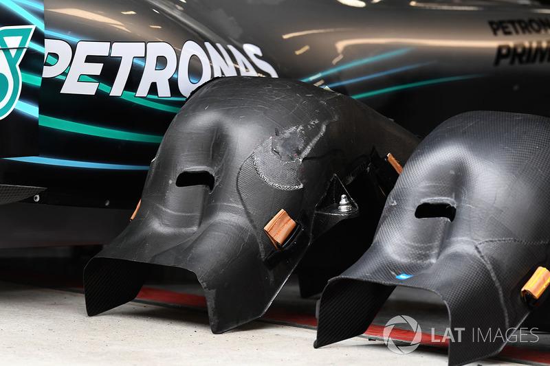 Mercedes-AMG F1 W09 EQ Power+ seats