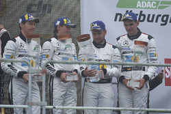 Podium: third place #5 Mercedes-AMG Team Black Falcon Mercedes-AMG GT3: Yelmer Buurman, Thomas Jäger, Jan Seyffarth, Luca Stolz