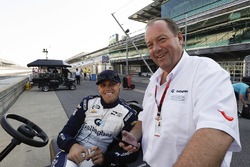 Grahame Clinton et son fils Max Chilton, Carlin Chevrolet