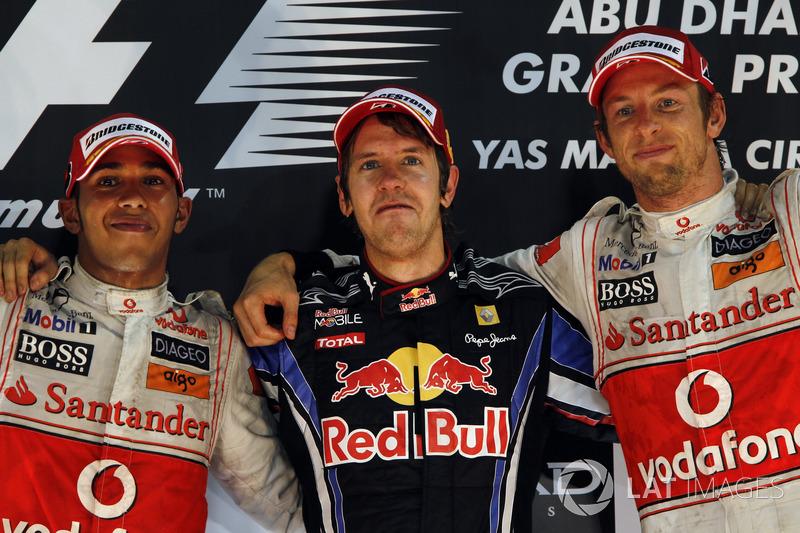 Abu Dhabi GP 2010 Podyum