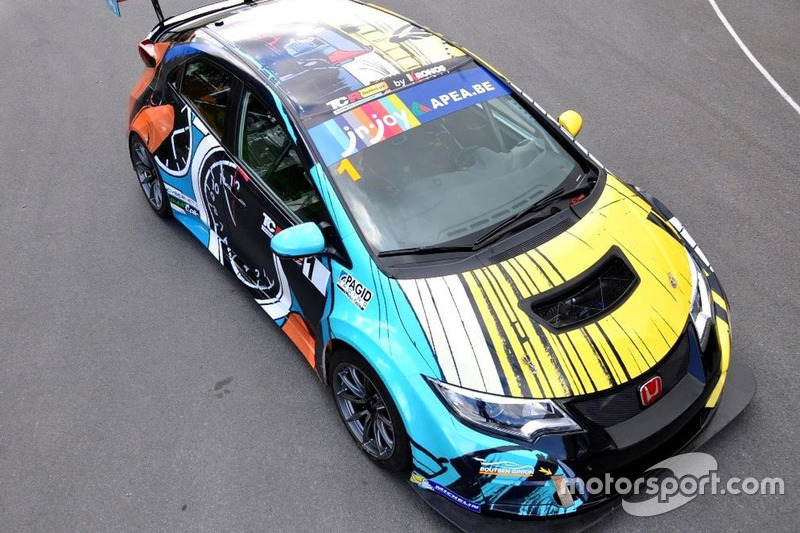 Tom Coronel, Boutsen Ginion Racing, Honda Civic TCR