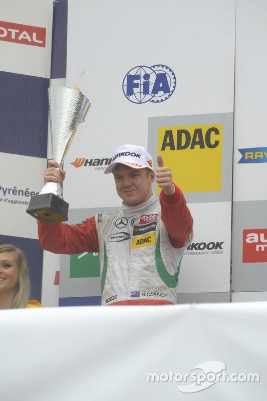 Podium: Nick Cassidy, Prema Powerteam Dallara F312 – Mercedes-Benz