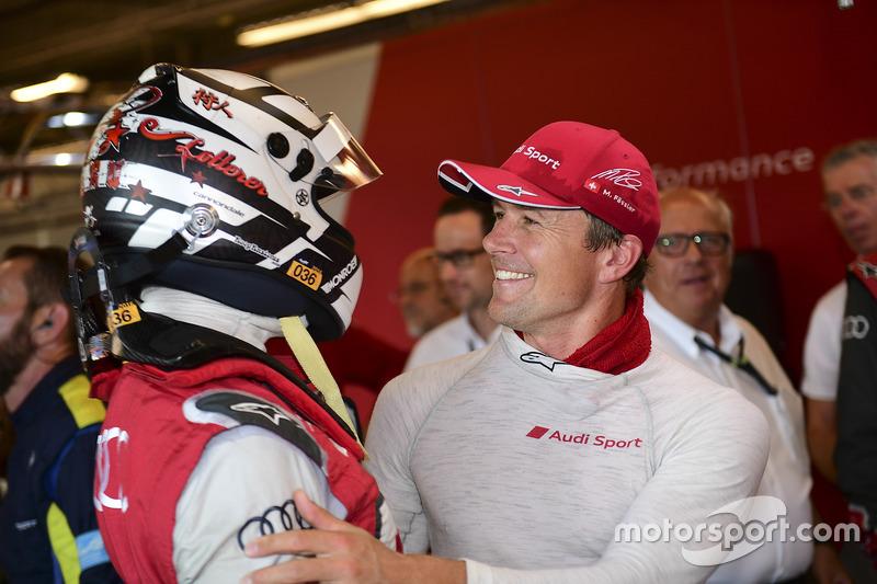 Ganadores de la pole Andre Lotterer, Marcel Fässler, Audi Sport Team Joest