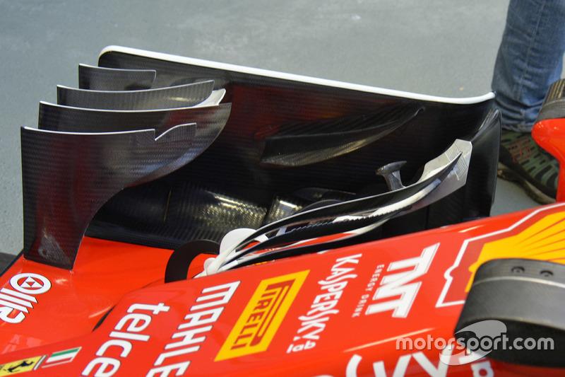 Ferrari SF16-H: Frontflügel
