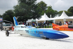 The Blue Flame rocket car as driven by Gary Gabelich
