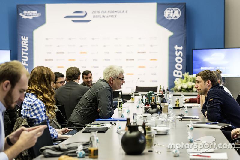 Pressekonferenz, Berlin ePRix