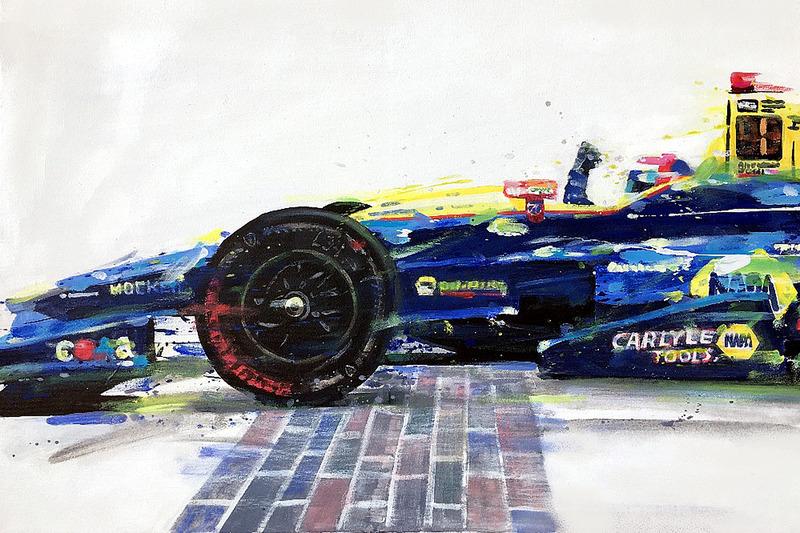 2016 Indy 500 - Yarış galibi Alexander Rossi