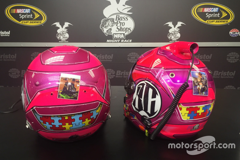 Casco in tributo a Bryan Clauson