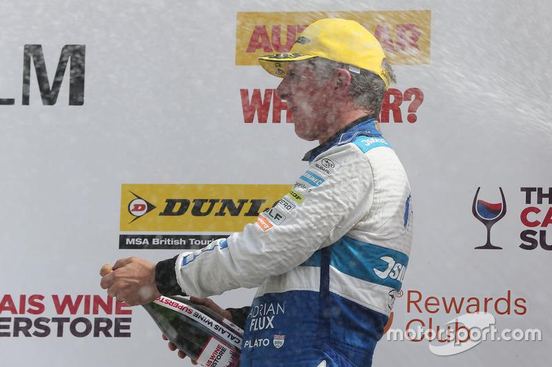 Podyum: 3. Jason Plato, Silverline Subaru BMR Racing