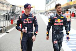 Daniel Ricciardo, Red Bull Racing en Max Verstappen, Scuderia Toro Rosso