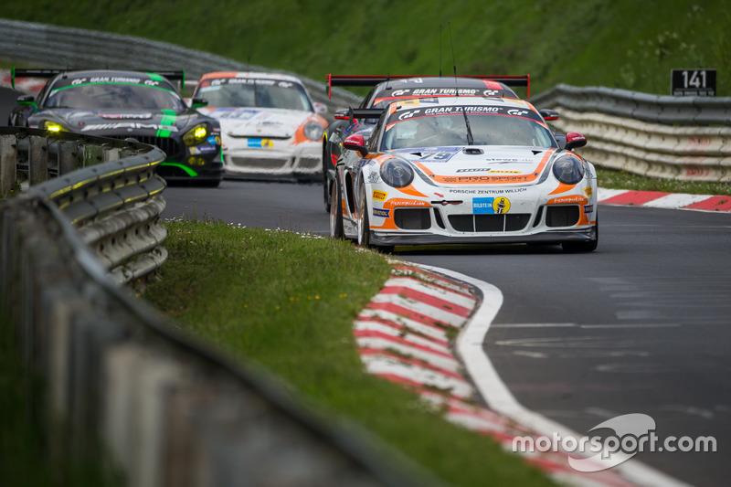 #79 Prosport-Performance, Porsche Cayman Pro4: Nicolaj Moller Madsen, Michael Rebhan, Jörg Viebahn