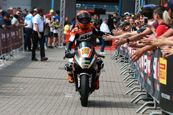 Second place Glenn Van Straalen