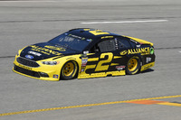 Brad Keselowski, Team Penske, Ford Fusion Alliance Truck Parts