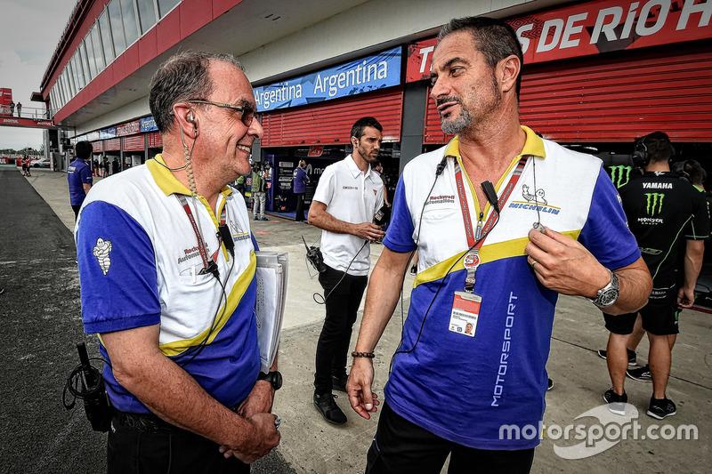 Piero Taramasso, responsable deux roues Michelin Motorsport