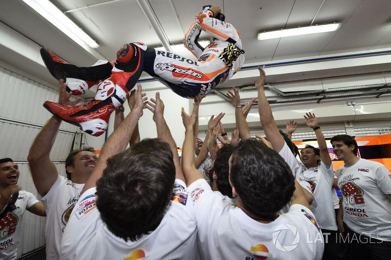 Второй лучший гонщик Honda