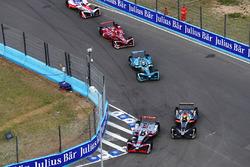 Maro Engel, Venturi Formula E Team, passes Andre Lotterer, Techeetah
